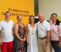 Carlos Alberto Arango, María Eugenia Piedrahita, Gilma España, Arturo Calle y Marlin Díaz.