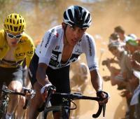 Egan Bernal. Tour de Francia 2018.