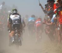 Etapa 9 del Tour de Francia 2018. Tramo de pavé