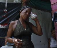 Lenia Santana, mujer de Yorman Romero, asesinado en Arjona.