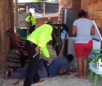 Hombre capturado por la Policía