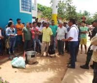 Protesta en Altos del Rosario