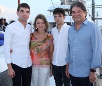 Rafael Maldonado, Aida Gerdts, Alejandro Maldonado y Rodrigo Maldonado.