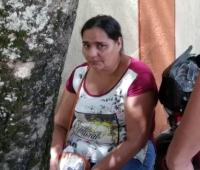 Bertilda López, madre de Linda Venecia, quien murió en accidente casero en Simití.