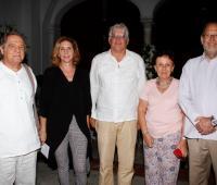 Camilo Calderón, Marta Zúñiga, Felipe Vergara, Miriam Ochoa y Rafael Camacho.