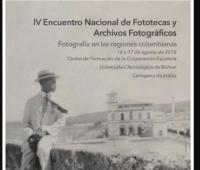 Afiche IV Encuentro Nacional de Fototecas y Archivos Fotográficos
