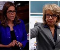 Exministras Gina Parody y Cecilia Álvarez.