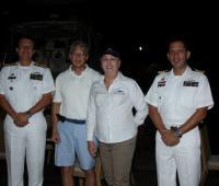Francisco Cubides, Carlos Del Castillo, Joan Mac Master y Jesús Zambrano.