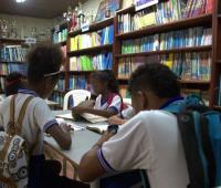 Estudiantes de la IE La Boquilla