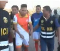 Jugador capturado en Perú