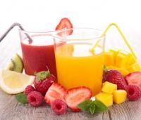 Jugos de frutas.