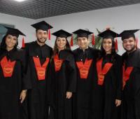 Lila Cuesta Roa, Enrique Cheng Forero, Sara Sánchez Cubillos, Luán Torres Bejarano, Angelica Hoyos Buelvas y Gustavo Betín Gutiérrez.
