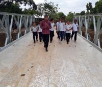 Puente san isidro en El Carmen