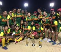 Selección Bolívar, campeona del Nacional de Sóftbol Femenino en Barrancabermeja.