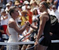 Tenista Kaia Kanepi derrotó a Simona Halep en US Open