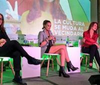 Alejandra Borrero y Amparo Grisales.