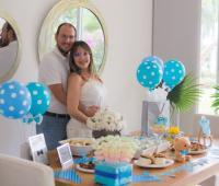 Andrés Parra y Diana Cáliz