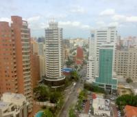 Panorámica de la ciudad de Barranquilla.