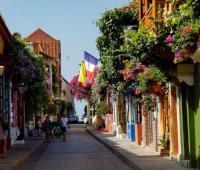 Calles del Centro Histórico de Cartagena.