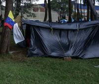 Cambuches de venezolanos