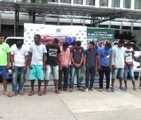 Banda criminal capturada por la Policía