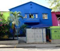 Fachada de la Casa del Niño donde hay una unidad de nefrología pediátrica.