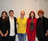 Claudia Fadul, Eduardo Jasbón, Ricardo Gallen, Emilia Fadul y Sonia Díaz.
