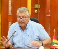 Óscar Marín Villalba en sesiones del Concejo Distrital