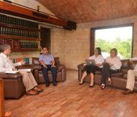 Iván Duque entrevista a candidatos de la terna a la Alcaldía
