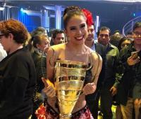 Greeicy Rendón ganadora del reality Mira quién habla