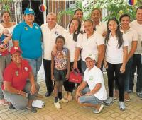 Funcionarios de la ESE Cartagena en modelo de Atención en Salud Familiar en Villas de Aranjuez