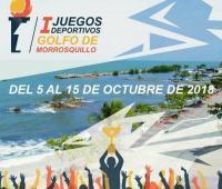 Afiche de los Juegos del Golfo de Morrosquillo