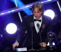 Luka Modric ganó el The Best de la FIFA