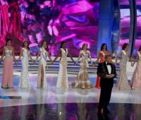 Concurso de belleza Miss Venezuela.