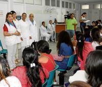 Niñas enfermas en el Carmen de Bolívar