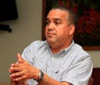 Pedrito Pereira Caballero, alcalde encargado.