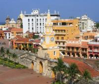 plaza de los Coches en Cartagena.