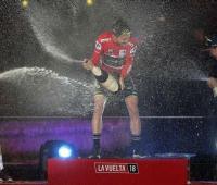 Podio de la Vuelta a España