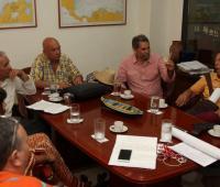 Sindicalistas de Cartagena.