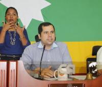 Presidente del concejo en sesiones