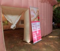 Campaña contra el cáncer de seno en el Día Mundial de la lucha contra esta enfermedad