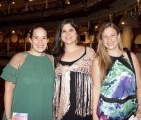 Ana María Alcocer, Larissa Jasbón y Martha Alcocer.