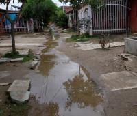 Aguas estancadas en Villas de Aranjuez