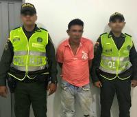 Hombre capturado