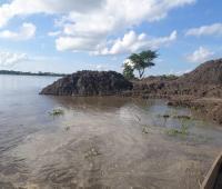 Terrenos llenos de agua