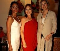 Daniela Carvajal, Marcela Gómez Rodríguez y Carmen Otero.