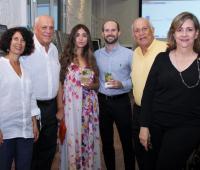 Denise Spicker, William Spicker, Katherine Álvarez, Roberto C. Spicker, Roberto Spicker y María Victoria de Spicker.
