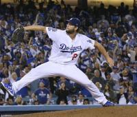 Clayton Kershaw será el abridor de los Dodgers mañana ante Cerveceros, en el primer juego de la final.
