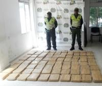 Droga incautada por la Policía de Cartagena.