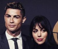 Cristiano Ronaldo y su novia, Georgina Rodríguez.